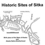 Historic Sites of Sitka Map